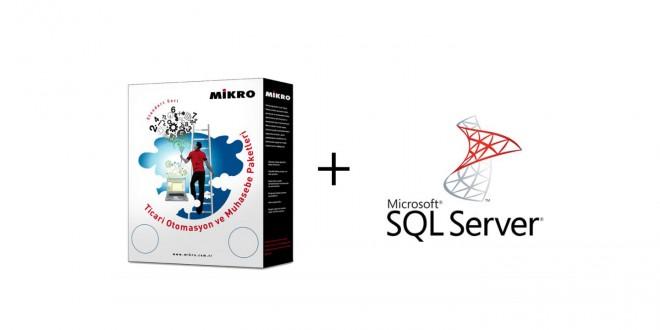 Mssql server ve Mikro Muhasebe