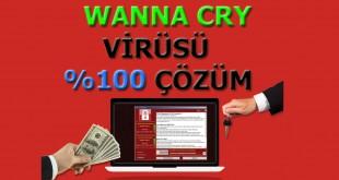 wanna cry virüsü çözüm